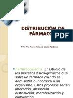 3.- Distribución de Fármacos