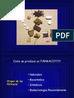 Origen y Desarrllo de Los Farmacos -2007