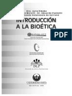 Introducción a La Bioética