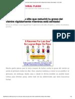 5 Ejercicios en La Silla Que Reducirá Tu Grasa Del Vientre Rápidamente Mientras Está Sentada! – Viral Flash