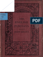 (1910) The English Puritans