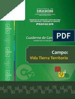 UF11 Campo Vida Tierra Territorio 2016