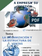 Tema 2 - Estructuras Organizacionales y Proceso de Ventas