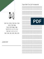 Ficha de Lectura, Leo y Leo