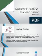 nuclear fission v fusion