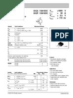 Transistor - P15N100