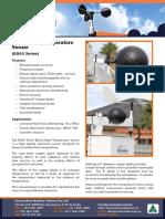 BG40 Black Globe Temperature Sensor