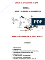 Inspeccion y Seguridad de Gruas Moviles