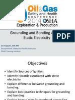 Koppari Grounding and Bonding Against Static Electricity