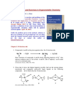 Problems in Organometallic Chemistry for Web Page Sept 2011 Before CYP120