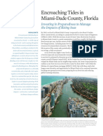 Miami Dade Sea Level Rise Tidal Flooding Fact Sheet