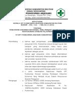 9.2.2 Sk Penetapan Dokumen Eksternal Yg Mjd Acuan Dlm Penyusunan Standart Yan Klinis