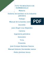 Manual Bombas
