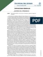 Real Decreto 903/2010, de 9 de julio, de evaluación y gestión de riesgos de inundación