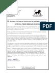 Polston Attorney's Press Release
