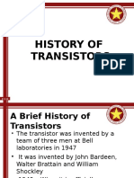 1_INTRODUCTION - History of Transistor