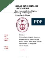Fisica 1 Primer Informe