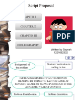 Script Proposal (2)