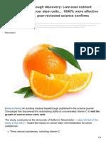 Vitamin C Breakthrough Discovery