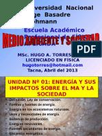 Unidad 1 Energía Impactos en La S y El MA