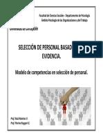 Clase 02 2 Modelo de Competencias en Seleccion