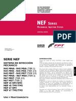 Uso y Mantenimiento NEF Mecanico