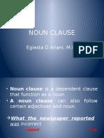 7th Noun Clause