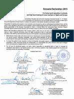 granada declaration 2015