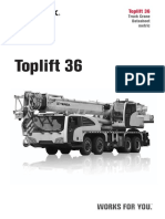 Grúa Movil Terex Toplift 36