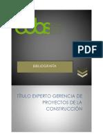Bibliografia de Gestion Construcción