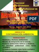 Unidad 2 Contaminación Ambiental CONTINUACIÓN