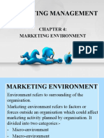 Marketing Management - Marketing Environment