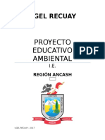 PROYECTO EDUCATIVO AMBIENTAL