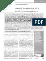 Polymorfism Dopamin Patway