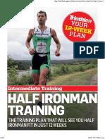 Training Plan Tri