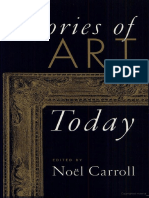 Carroll, Noel- Theories of Art Today.pdf