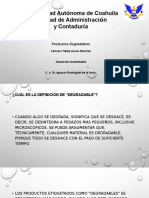 Productos Degradables PP