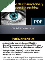 Observacion y Registro Etnografico