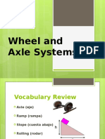 wheel and axle systems