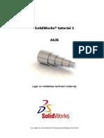 Solidworks Tutorial 1 Voor Lager en Middelbaar Technisch Onderwijs 2014