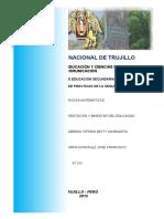Sesión de Tutoria - CONOCIÉNDONOS