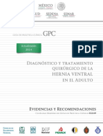 Hernia Ventral Guia de Practica Clinica CENETEC