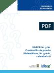 Pruebadematematica-Grado5calendarioa,2009(1).pdf