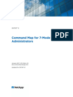 ONTAP 90 Command Map for 7Mode Administrators