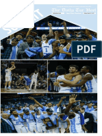 The Daily Tar Heel's Final Four issue for 2017