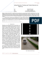 A Vision Based Lane Marking Detection, Tracking and Vehicle Detection on Highways
