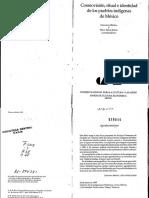 Broda, Johana y Baez-Jorge, Félix. Cosmovisión, ritual e identidad de los pueblos indígenas de México.pdf