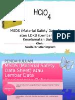 MSDS HClO4