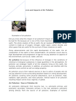 Sources and Impacts of Air Pollution