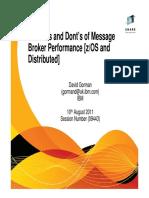 TheDo'SAndDont'SOfMessageBrokerPerformance Weds